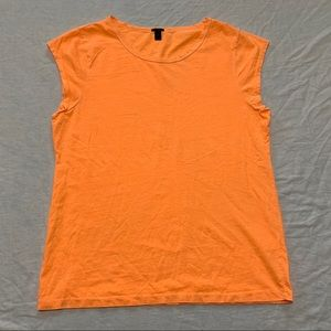 J. Crew Women's Ballet Cap Sleeve T-shirt